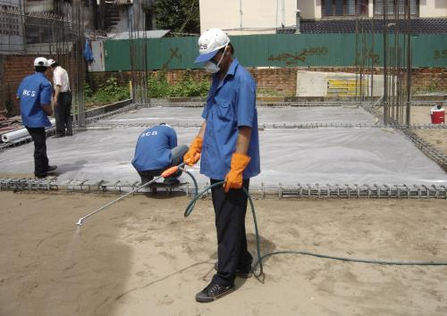 Anti Termite Treatment Pre Construction Soil treatment